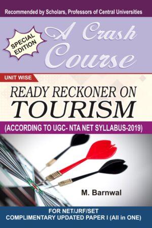 READY RECKONER ON TOURISM